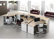 Modular reception desk ASK - Las Mobili