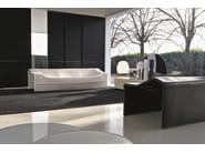Tanned leather sofa SKIN | Sofa - MOLTENI & C.