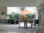 Round marble table WHERE | Round table - MOLTENI & C.