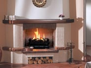 Gas wall-mounted fireplace BRACIERE SUPERIOR - BRITISH FIRES