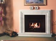 Gas wall-mounted fireplace BRF 22 E - BRITISH FIRES