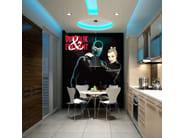 Adhesive washable wallpaper UNA VITA IN NERO - MyCollection.it
