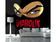 Adhesive washable wallpaper LA MASCHERA - MyCollection.it