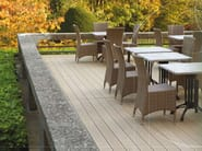 Wooden and PVC decking TERRACE MASSIVE | Decking - Twinson by Deceuninck