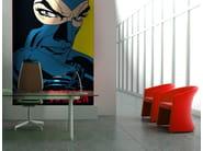 Adhesive washable wallpaper IL RADIOROLOGIO - MyCollection.it