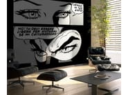Adhesive washable wallpaper GLI OCCHI DEL CRIMINE - MyCollection.it