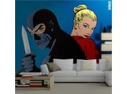 Adhesive washable wallpaper DIABOLICI PER SEMPRE - MyCollection.it