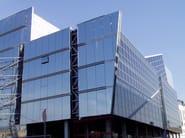 Continuous metal laminate for facade Super Windy® - NOVELIS