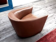 Upholstered armchair with armrests CANZONE - ERBA ITALIA