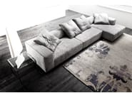 Sectional sofa DYLAN - ERBA ITALIA