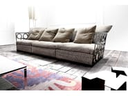 Sectional sofa NIRVANA - ERBA ITALIA