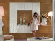 Wall-mounted lacquered modular storage wall MAORI | Storage wall - Bizzotto