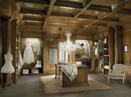 Sectional wooden walk-in wardrobe TAORMINA FIRST | Walk-in wardrobe - Bizzotto