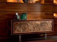 Solid wood sideboard with doors ELETTRA DAY | Sideboard - Cantiero