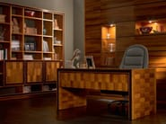 Rectangular solid wood office desk ELETTRA DAY | Office desk - Cantiero