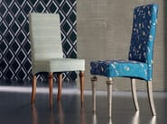 Solid wood chair ÉTOILE DAY | Upholstered chair - Cantiero