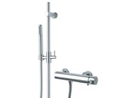 2 hole shower mixer with hand shower X-CHANGE_MONO | Shower mixer with hand shower - Rubinetterie 3M