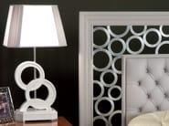 Silver leaf bedside lamp ÉTOILE NIGHT | Bedside lamp - Cantiero