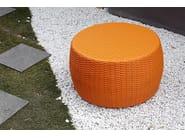 Synthetic fibre garden pouf / garden side table SENTOSA | Garden pouf - Il Giardino di Legno