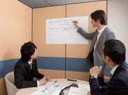 Wall-mounted synthetic material office whiteboard 3M WHITEBOARD WH-111 - 3M ITALIA