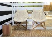Folding wooden garden armchair VENEZIA | Garden armchair - Il Giardino di Legno