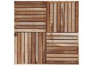 Wooden outdoor floor tiles TILES   Teak outdoor floor tiles - Il Giardino di Legno