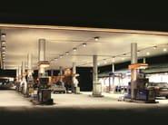 LED ceiling lamp LINDRO ROUND MAXI - Reggiani Illuminazione