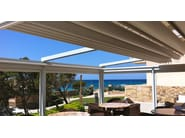 Sliding awning with guide system A2 LINEAR - KE Outdoor Design