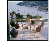 Round teak garden table SAMBA | Round garden table - Roberti Rattan