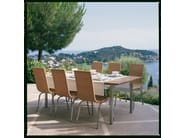 Rectangular teak garden table SAMBA | Rectangular garden table - Roberti Rattan