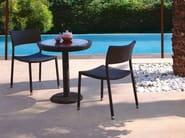 Stackable stainless steel garden chair PAPAYA | Garden chair - Roberti Rattan