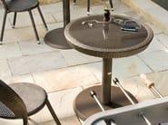 Round cast iron garden side table PAPAYA | Round garden side table - Roberti Rattan