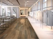 Porcelain stoneware wall/floor tiles with wood effect WOOD_KER BROWN - EDIMAX CERAMICHE