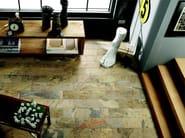 Porcelain stoneware wall/floor tiles with stone effect SLATY OCHRE - EDIMAX CERAMICHE