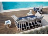 Aluminium garden sofa HAMPTONS GRAPHICS | Garden sofa - Roberti Rattan