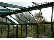 Glass and iron conservatory BRITISH STYLE - CAGIS