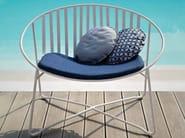 Garden armchair ELIPSE - Roberti Rattan