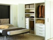 Sectional wardrobe with drawers STORAGE - CLEI