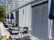 Motorized aluminium venetian blinds ARO 65 - HELLA Italia