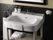 Lacquered console sink with drawers BOGART VANITY - Devon&Devon
