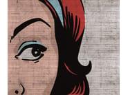 Outdoor pop art wallpaper POP POP POP - Wall&decò
