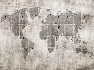 Landscape wallpaper NEWS PLANET - Wall&decò