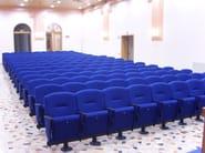Fabric auditorium seats EIDOS PLUS - Ares Line