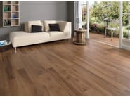 Ecological frost proof wall/floor tiles with wood effect EVOKE BROWN - CERAMICHE KEOPE