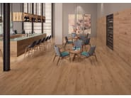 Ecological frost proof wall/floor tiles with wood effect EVOKE SAND - CERAMICHE KEOPE
