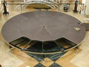 Floor-standing swivel display unit CARAVAGGIO - SELVOLINA