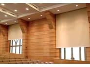 Fire retardant dimming PVC fabric for curtains BLACKOUT KR F.R. - Mottura Sistemi per tende