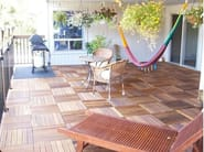 Wooden decking DÉCOTILES - Déco - The Italian Decking Company
