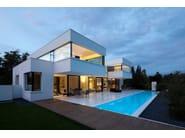 Private House in Germany - Design: Karl Dreer - Fabrication: Dreer GmbH – Klöpfer Surfaces - Project implementation: Felix Bembé & Sebastian Dellinger - Photographer: ©Dirk Wilhelmy