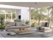 Modular fabric garden armchair AIR | Garden armchair - MANUTTI